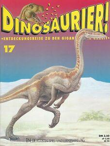 DINOSAURIER ! Giganten der Urzeit - Band 17 - De Agostini Heft 1993
