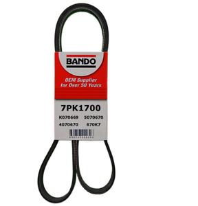 BANDO 7PK1700 Serpentine Belt Fits ACURA, HONDA, ALTIMA, MURANO+  ALTE+P.STE+A/C