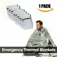 New Ourdoor Thermal Emergency Blanket Thermal Survival Safety Insulating Mylar