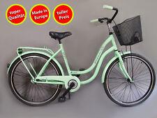 26 pollici donna Amsterdam bicicletta citybike cityrad damenrad pistacchio VINTAGE -20%