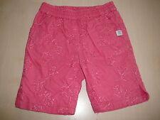Kanz tolle kurze Hose Gr. 62 rosa mit Blumenstickereien !!
