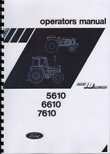 1983 Ford 5610/6610/7610 Series 10 Tractor Operator Instruction Manual