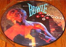 DAVID BOWIE LET'S DANCE  ORIGINAL PICTURE DISC