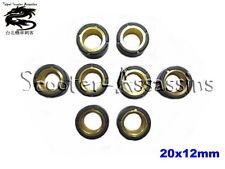 SET of 8 ROLLER WEIGHTS 20x12 for YAMAHA Versity 300 2003-2006 9g
