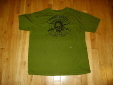 ZOMBIE HUNTER DEFENSE EXPERT GRAPHIC T SHIRT ONE SIZE FITS ALL WALKING DEAD