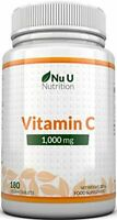 Vitamin C 1000 mg   vitamine C   Cure de 6 Mois/180 comprimés   Compléments al