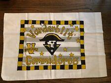 "Vanderbilt University Pillowcase 20"" x 25"" NEW Go Dores!"