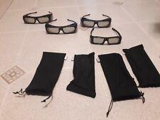 4 Occhiali 3D sony Bravia
