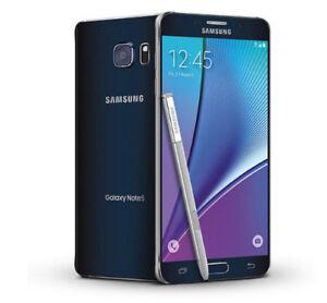 Samsung Galaxy Note5 SM-N920A - 32GB - Black Sapphire (Unlocked) Smartphone