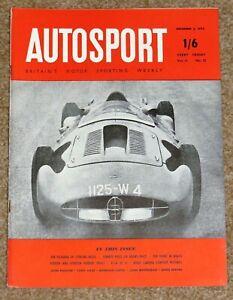 Autosport 2/12/55 - TORREY PINES 6 HRS - WORKS RENAULT 4CV TEST -ERA RIA HISTORY