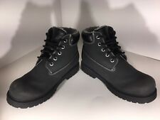 Smart Fit Boy's Boots Youth Waterproof Fleece Hiking, Black Or Brown, Size 4 1/2