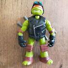 Teenage Mutant Ninja Turtles Michelangelo Hot Rod Biker Action Figure 2014 4.5