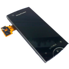 100% Genuine Sony Xperia Ray ST18i Anteriore Digitalizzatore Touch Screen + Display LCD BLAC