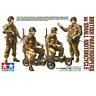 Tamiya 35337 British Paratroopers w/Small Motorcycle 1/35