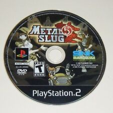 Metal Slug 5 GAME ONLY for your PLAYSTATION 2 PS2 system - VG - NOT METAL SLUG 4