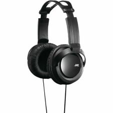 JVC HA-RX330 Over the Ear Wired Full Size Headphones - Black