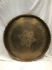 Indian Brass Table 40 Inch Diameter