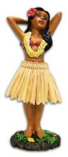 Hawaiian Hula Dancer Girl Dashboard Doll Dancing Bobble Aloha Car Auto Figurine