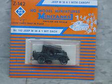 Roco / Herpa Minitanks (NEW) WWII US M-38A1 Willys Jeep w/Canopy Lot #1104