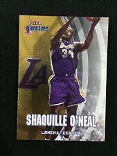 "Shaquille Oneal einfügen ""Gametime"" Fleer 2000 Lakers Basketball Card"