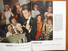 Nov 23-1963 TV Guide(GENE BARRY/BURKE'S LAW/SALOME JENS/ABBY DALTON/PHIL SILVERS