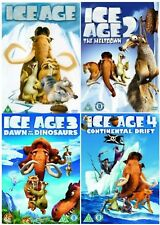The Complete Ice Age 1 - 4 DVD Collection 4 Discs Brand New
