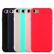 Funda de Silicona Carcasa Matte Cover Case Para iPhone XS Max XR X 8 7 6S Plus