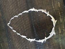 Sterling Silver Kabana Dolphin Necklace Nautical Ocean Jewelry