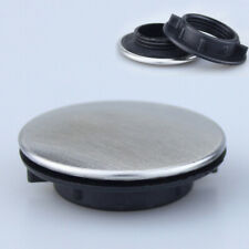 Kitchen Sink Tap Hole Blanking Plug Cover Plate Disk Brushed Steel Applied