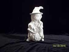 Sweet Pretenders Halloween Witch - Ceramic Bisque Ready to Paint