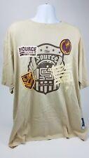 The Source Clothing Magazine NWT Hip Hop T Shirt Beige 3XL Music Theme