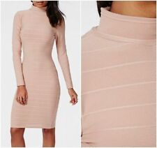 Missguided Long Sleeve Stretch, Bodycon Dresses for Women
