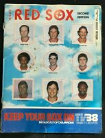 SCOREBOOK Magazine - 1977 (2nd Edition) - BOSTON RED SOX