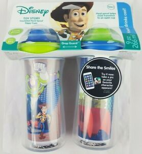 The First Years Disney Toy Story Insulated Sippy Cup 9 Oz Baby Cups 2pk