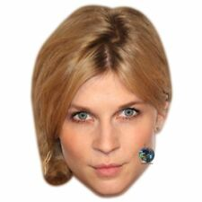 Clemence Poesy (Blonde) Big Head. Larger than life mask.