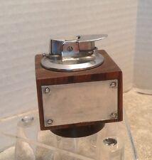 Vintage Ronson Veraflame Wooden Table Lighter