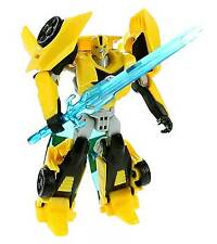 BUMBLEBEE • COMPLETE W/CARD BACK • C9 •TRANSFORMERS ROBOTS IN DISGUISE