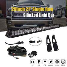 """DOT 03-17Dodge Ram 2500/3500 20""""100W LED Light Bar+Hidden Bumper bracket+Wirings"""