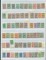 ROC China  Tai wan postage due stamp  63  Stamps