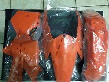 KIT PLASTICHE KTM SXF SX F 250 450 525 2005 2006 05 06 KIT 4 PZ COLORE ORIGINALE