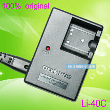 Genuine Original Olympus LI-40C Charger for LI-41C LI-42B LI-40B FE-320 Battery