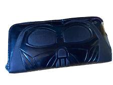 Loungefly Star Wars Collab Darth Vader Wallet Black