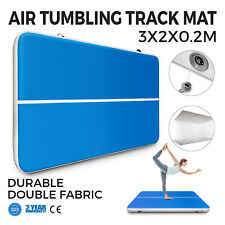 3x2m Air Track Floor Tumbling Inflatable Gym Mat Training 8in Thick Fitness