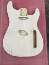 Custom Unfinished Pine Hybrid Guitar Body Stratocaster With Tele Specs