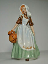 Royal Doulton Porcelain Figurine Milkmaid Hn 2057 Lady With Jug.Simply perfect