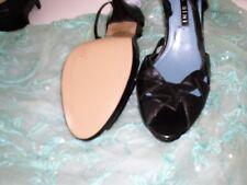 GIANNI BINI vintage high heel sandals prob. 1990s leather exquisite Brazil 7.5M