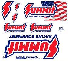 Summit Racing Equipment Sticker Sheet SUM-164-10