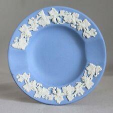 "Wedgwood Blue Jasperware Individual Ashtray Pin Dish Trinket 3 1/2"""