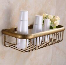 Bathroom Accessory Antique Brass Soap Shower Shelf Caddy Basket Storage Kba030