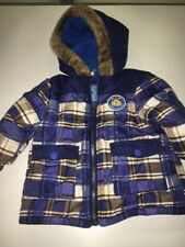 Boys Wippette Infant Size 12 months Warm Coat Jacket with Hood